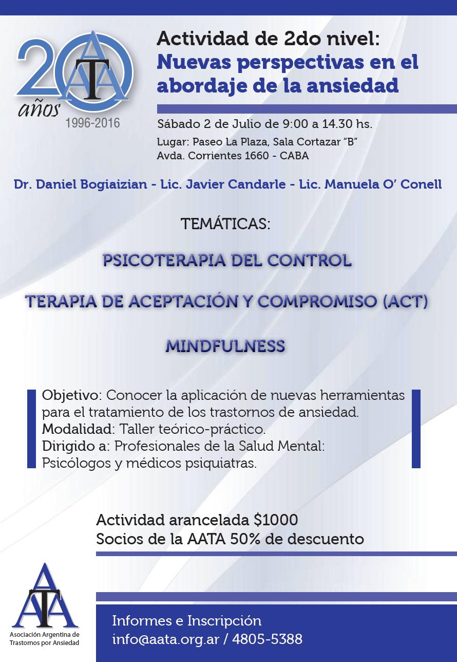 Actividad 2 de julio psicoterapia del control